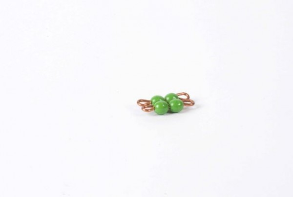 Perlenquadrat von 2 - Lose Perlen, Kunststoff Nienhuis