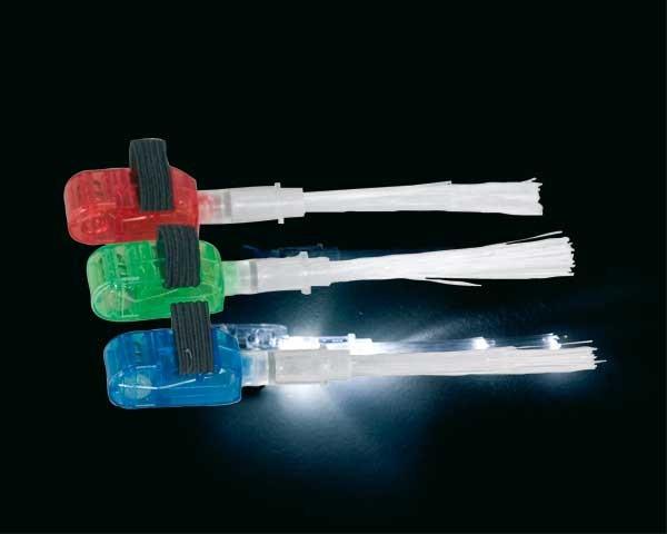 Fingerlichtfasern