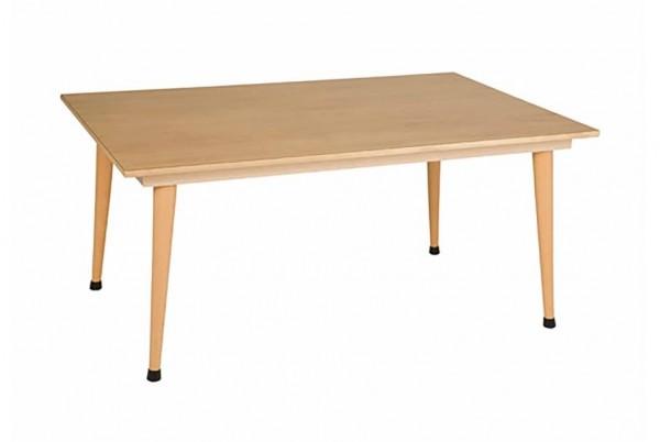 Gruppentisch: violett (120 x 80 x 53 cm)