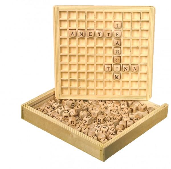 Buchstabenwürfel-Box