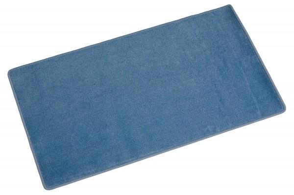 Arbeitsteppich hellblau