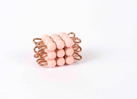 Perlenkubus von 3 - Lose Perlen, Kunststoff