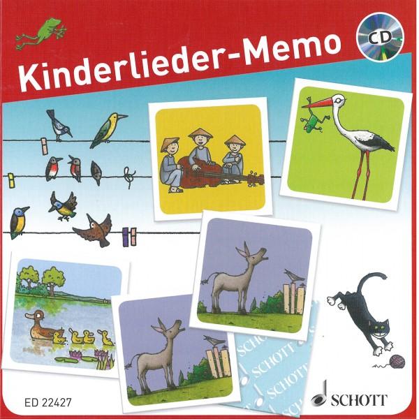 Kinderlieder-Memo Spiel