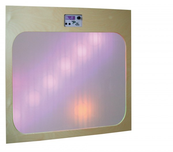 Leuchtspurwand Colormix