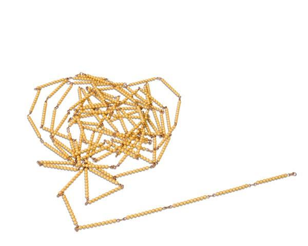 Tausenderkette lose Perlen Kunststoff