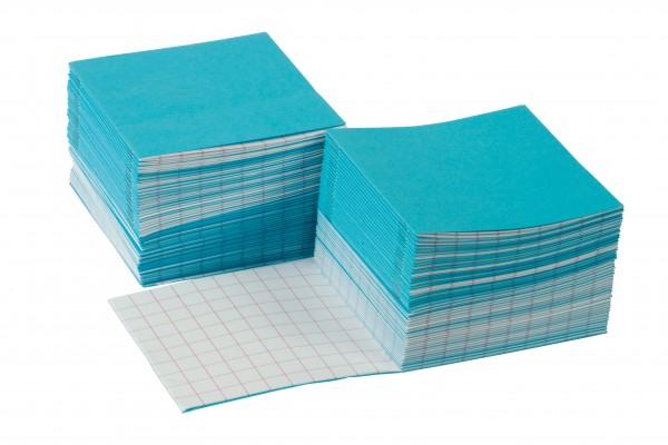Rechenheftchen groß blau (100 Stück)