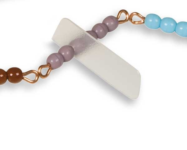 Reiterchen für Perlenstäbchen, Kunststoff