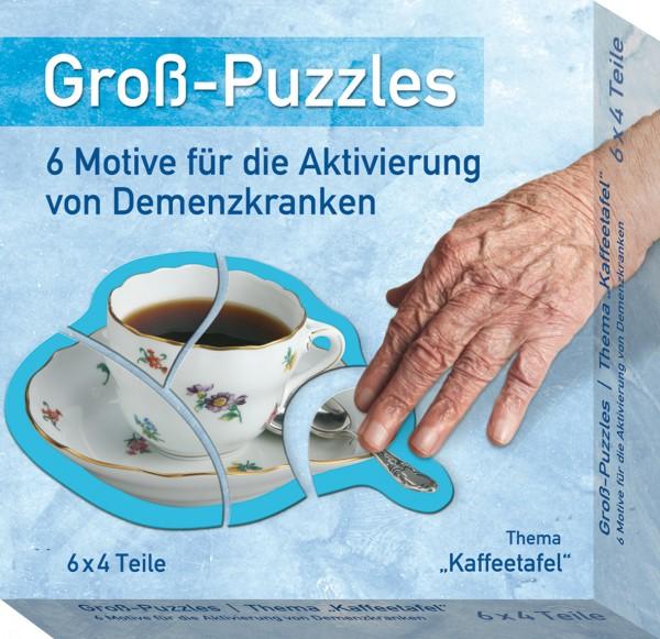 Gross-Puzzles Kaffeetafel