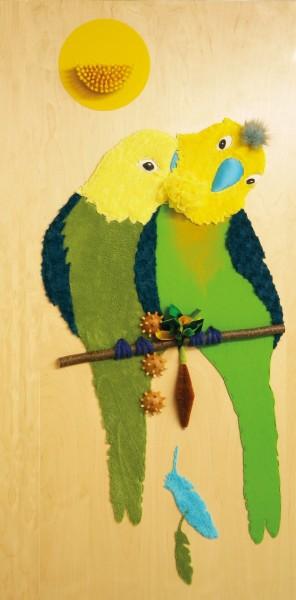 Tastbild Papageien