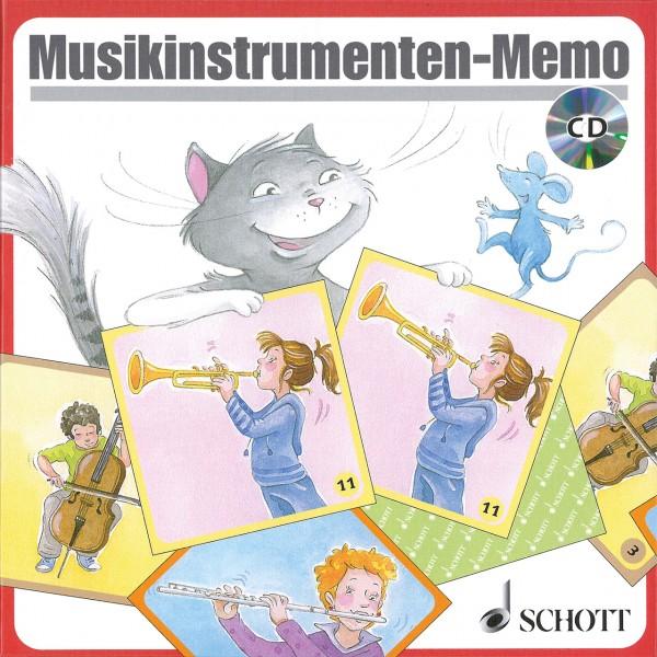 Musikinstrumenten-Memo Spiel