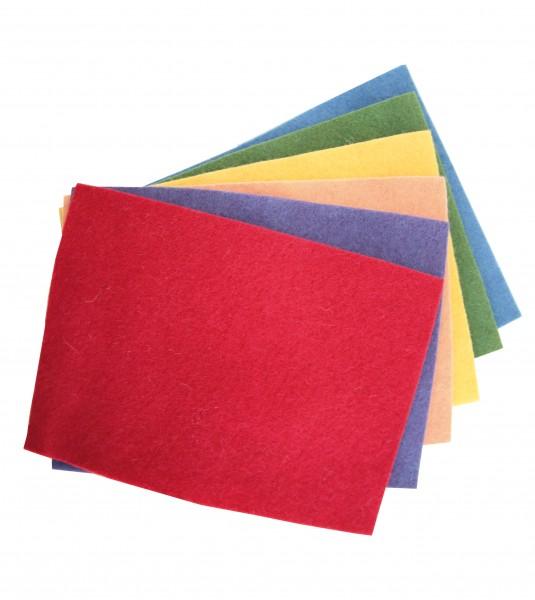 Bastelfilz Kräftige Farben