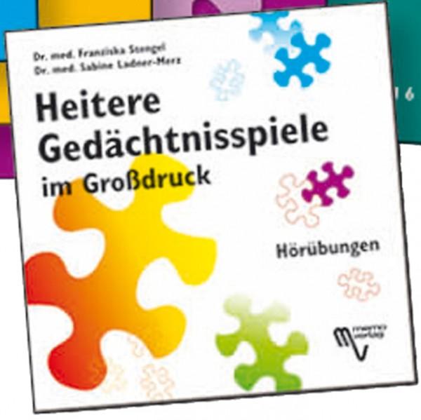 CD mit Hörübungen (Heitere Gedächtnisspiele)