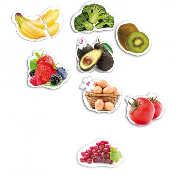 MAXI Puzzle Lebensmittel