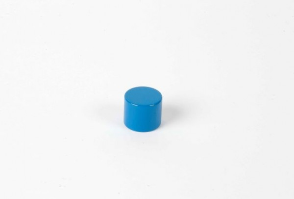 Farbige Zylinder - 3. blauer Zylinder