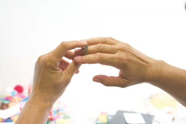 Massage-Fingerring