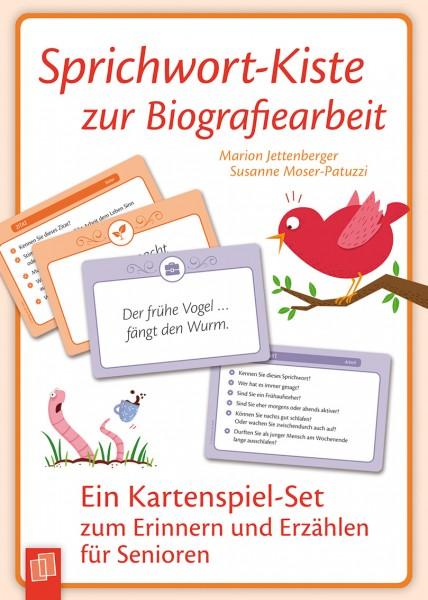Sprichwort-Kiste zur Biografiearbeit