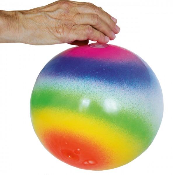 Regenbogenball mit Yoyo-Effekt