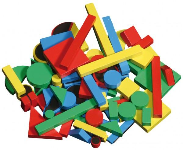 Magnetische Holzklötzchen (80 tlg)