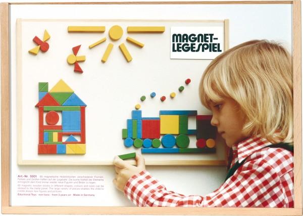 Magnet-Legespiel (80 tlg)