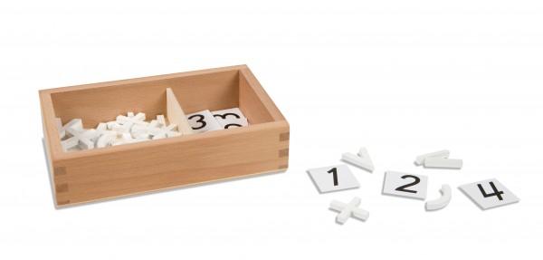 Kasten mit Mathematikzeichen