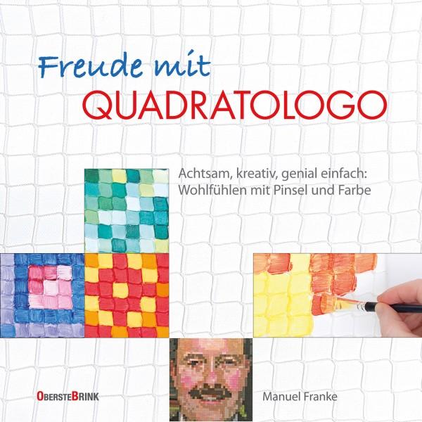 Freude mit Quadratologo Malbuch