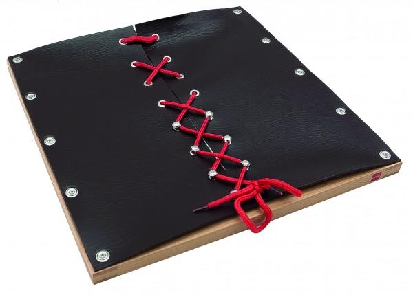 Rahmen mit Schuhschnüren 29,5 x 29,25 cm (GAM)