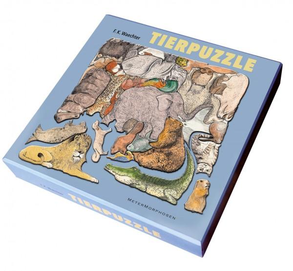 Tierpuzzle von F. K. Waechter