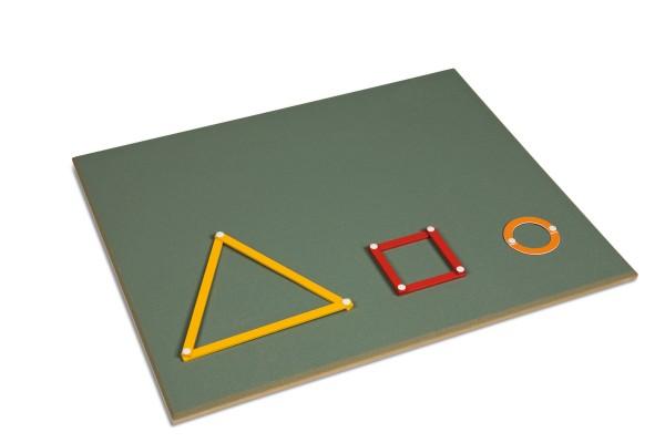 Arbeitsbrett Geometriekasten Nienhuis (Aktionspreis MM 150)
