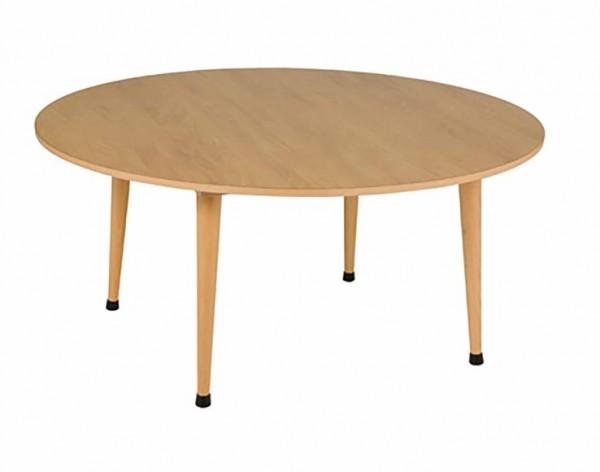 Gruppentisch rund: violett (115 x 53 cm)