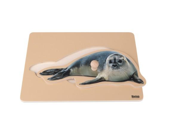 Kleinkind Puzzle Seehund