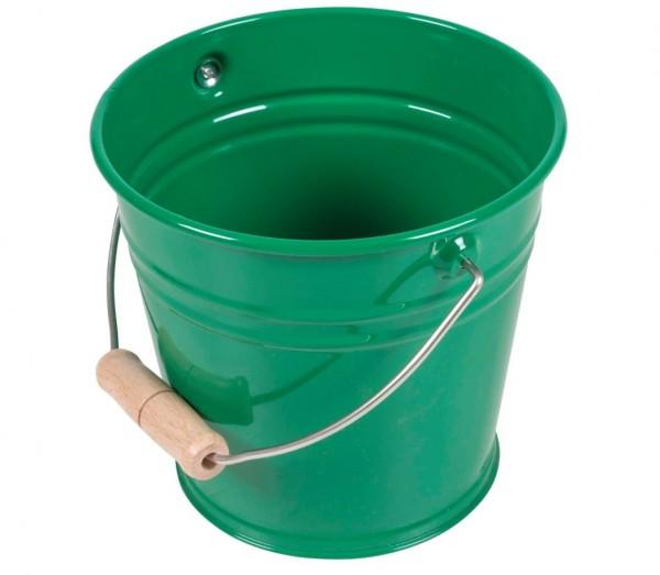 Kleiner Metalleimer grün