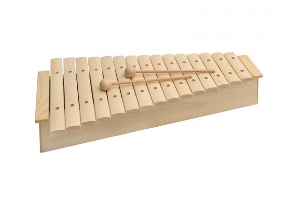 Xylophon mit Schlägeln