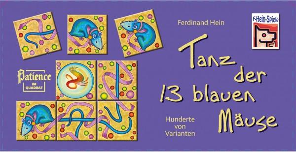 Tanz der 13 blauen Mäuse (Patience im Quadrat)