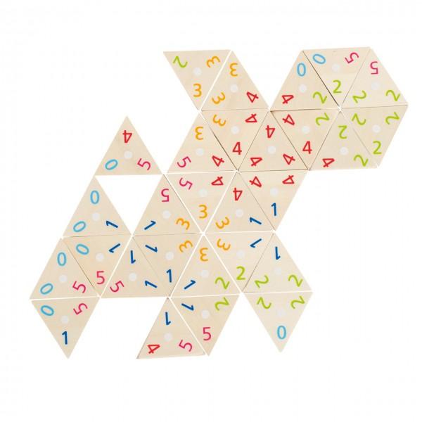 Tri-Domino Legespiel