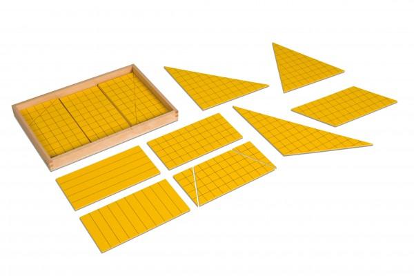 Satz Dreiecke zur Flächenberechnung Nienhuis (Aktionspreis MM 150)