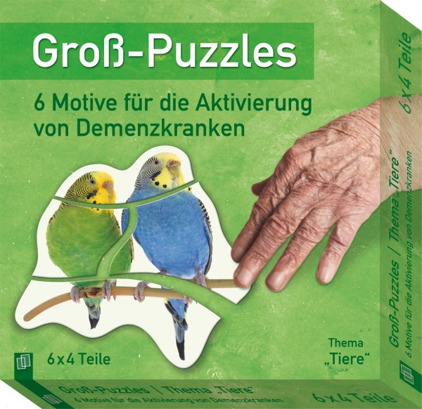 Groß-Puzzles Tiere