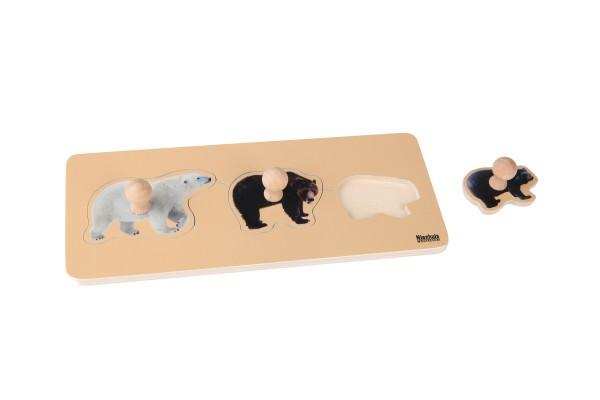 Kleinkind Puzzle 3 Bären