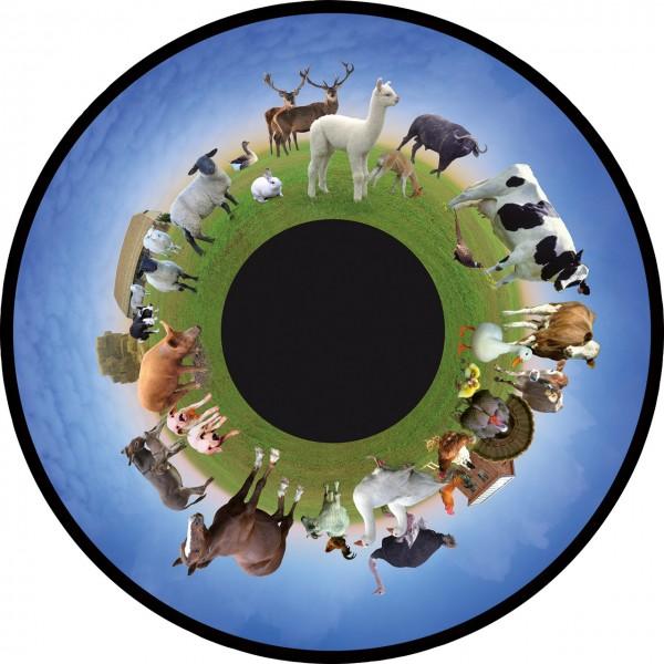 """Farmtiere (Motivdia 6"""" für SolarLed)"""