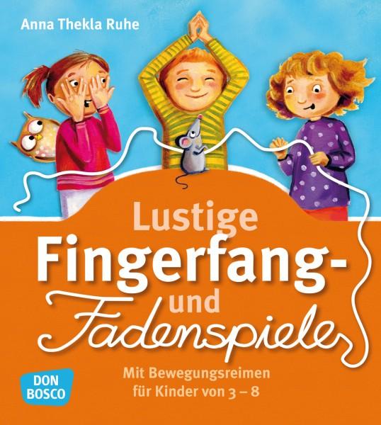 Lustige Fingerfang- und Fadenspiele
