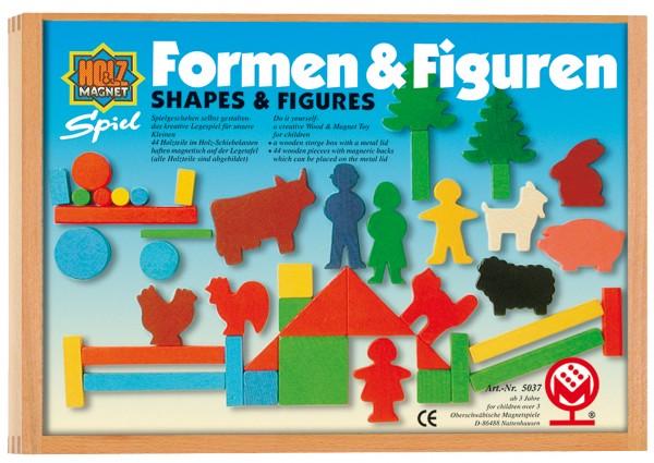 Formen und Figurenkasten magnetisch