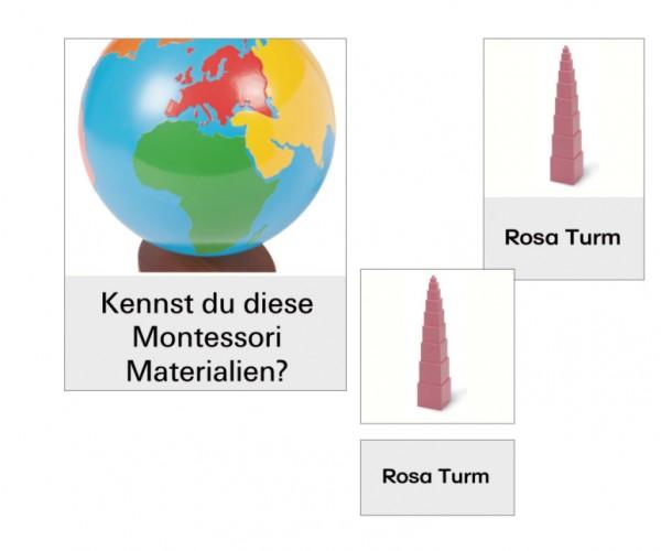 Kennst Du diese Montessori- Materialien?