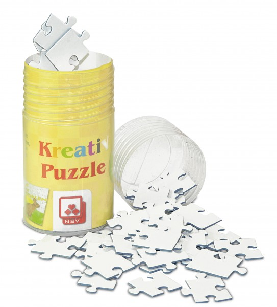 Kreativ Puzzle Blanko