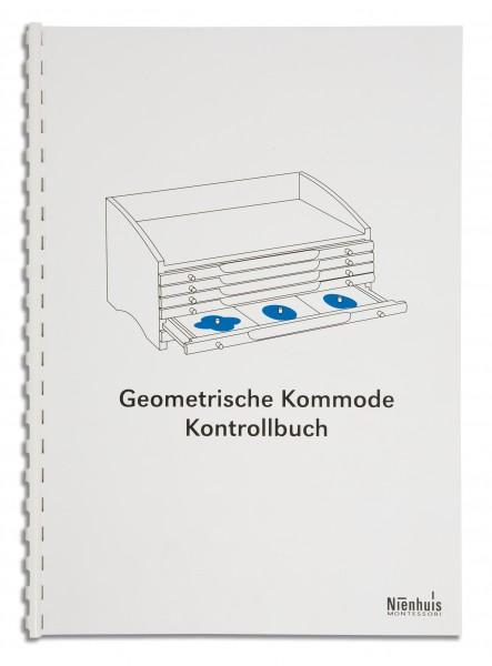 Kontrollbuch Geometrische Kommode