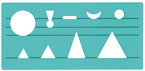 Wortsymbol-Schablone