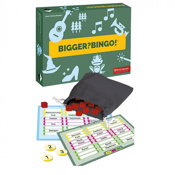 Bigger? Bingo! Bingospiel