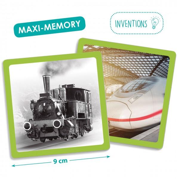 Maxi Memory Damals und Heute