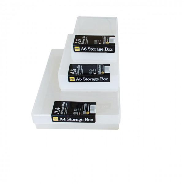 Kunststoffbox mit Deckel A4