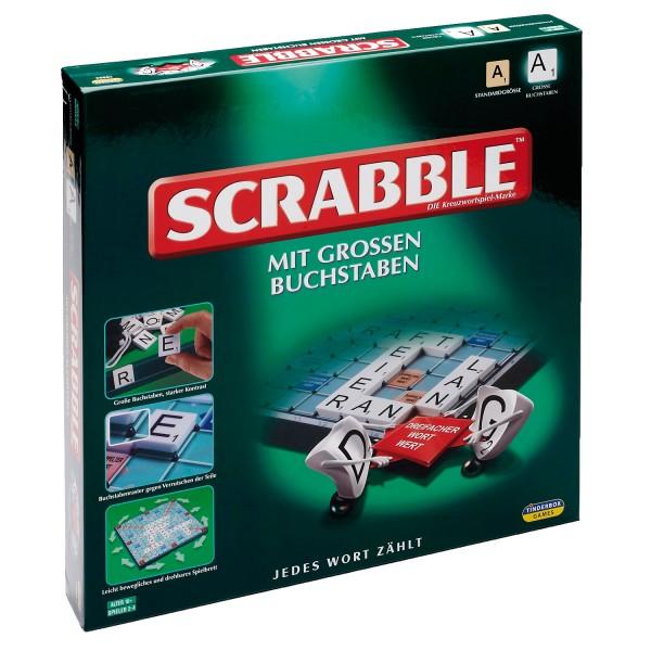 Scrabble & grosse Buchstaben