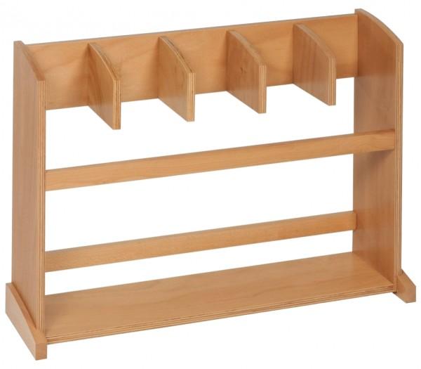 Ständer für 5 Arbeitsteppiche