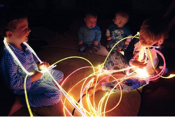 Lichtfasern NOVA besonders stark